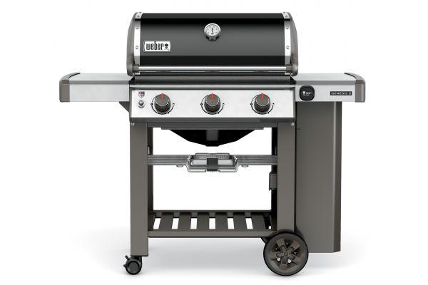 Weber Genesis II E-310 Black Liquid Propane Gas Outdoor Grill - 61010001