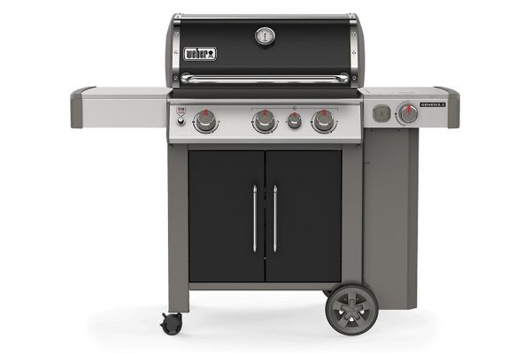 Large image of Weber Genesis II E-335 Black Liquid Propane Gas Grill - 61016001