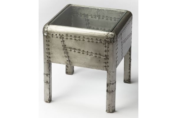 Large image of Butler Specialty Company Yeager Industrial Chic End Table - 6121330