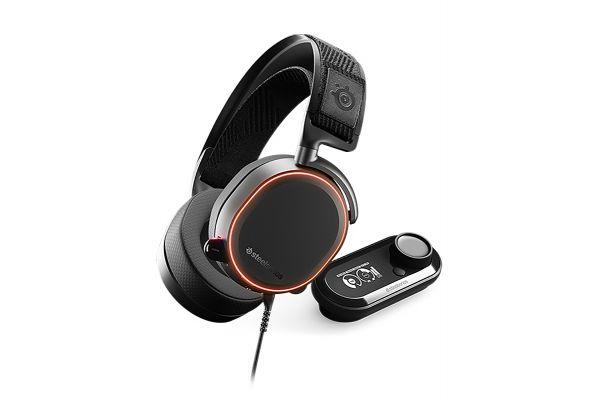 Large image of SteelSeries Arctis Pro + GameDAC Black Wired Gaming Headset - 61453