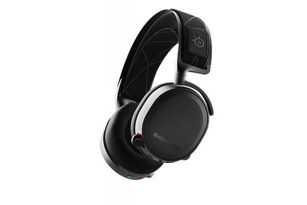 Large image of SteelSeries Arctis 7 Black Wireless Gaming Headset - 61505