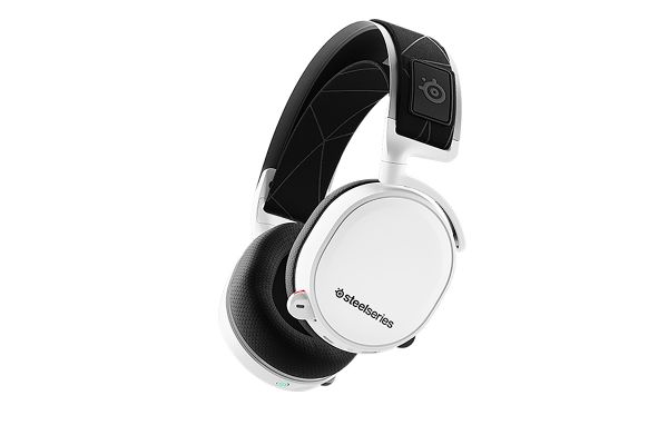 Large image of SteelSeries Arctis 7 White Wireless Gaming Headset - 61508