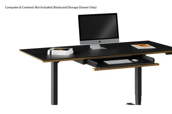 Large image of BDI Sequel 20 6159 Natural Walnut Keyboard/Storage Drawer - 6159 WL