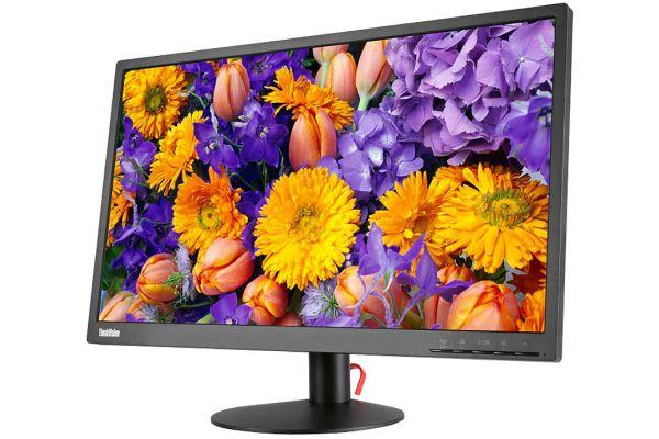 "Lenovo ThinkVision E24-10 23.8"" Black IPS Monitor - 61B7JAR6US"