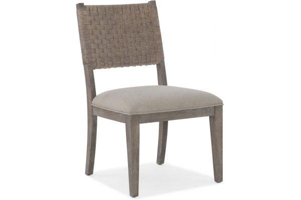 Large image of Hooker Furniture Dining Room Miramar Carmel Artemis Side Chair - 6200-75410-GRY