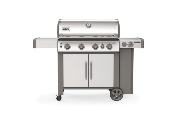 Large image of Weber Genesis II S-435 Stainless Steel Liquid Propane Gas Grill - 62006001