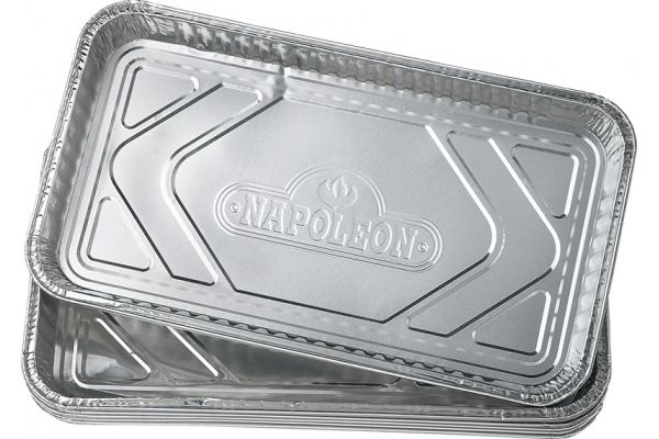 Large image of Napoleon Large Grease Drip Trays 5 Pack - 62008