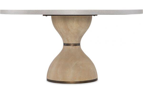"""Hooker Furniture Miramar Point Reyes Botticelli 48""""-60"""" Round Dining Table Base - 6201-75203B-MULTI"""