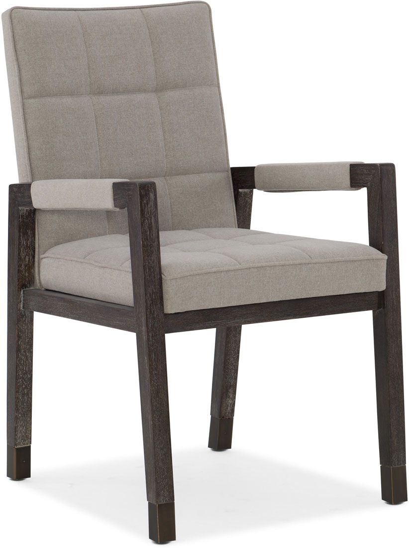 Hooker Furniture Dining Room Miramar Aventura Cupertino Upholstered Arm  Chair