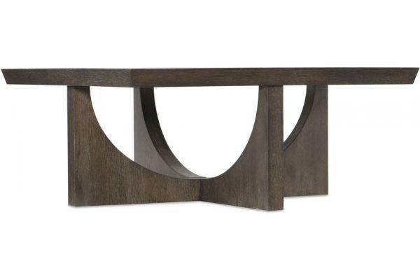 Large image of Hooker Furniture Living Room Miramar Aventura Tomasso Square Cocktail Table - 6202-80112-DKW
