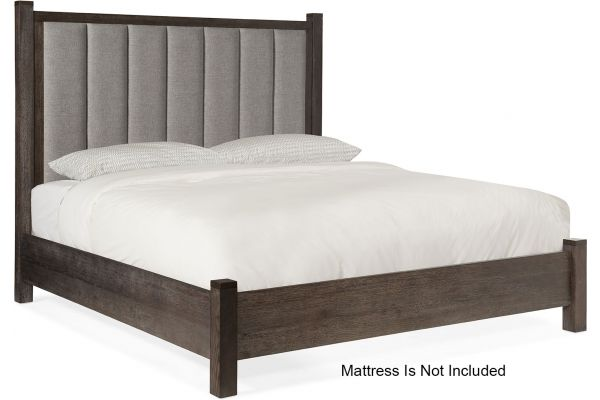 Large image of Hooker Furniture Bedroom Miramar Aventura Jackson King Poster Bed With Short Posts - 6202-90666-SHORT