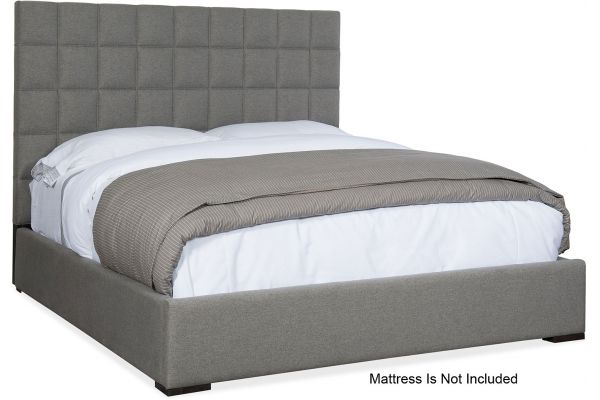 Large image of Hooker Furniture Bedroom Miramar Aventura Moreno Cal King Box Tufted Bed - 6202-90860-DKW