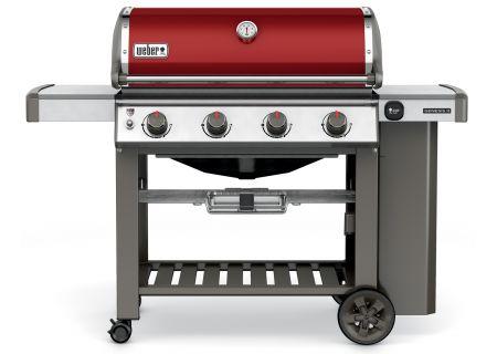 Weber Genesis II E-410 Crimson Liquid Propane Gas Grill  - 62030001