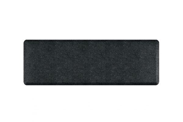 Large image of WellnessMats Granite Collection 6x2 Onyx Mat - 62WMRGO