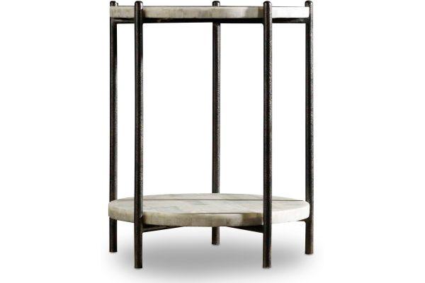 Large image of Hooker Furniture Living Room Melange Blythe Accent Table - 638-50267