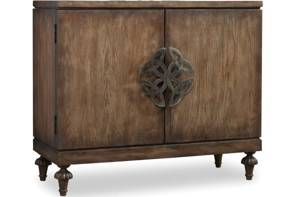Large image of Hooker Furniture Living Room Dark Wood Melange Savion Chest - 638-85044