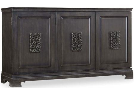 Hooker Furniture Living Room Charcoal Gray Melange Brockton Credenza - 638-85056