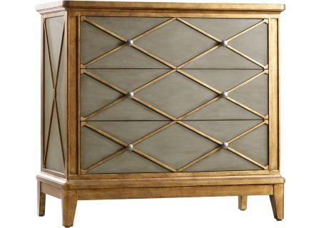Hooker Furniture Living Room Gold Melange Paxton Chest - 638-85066