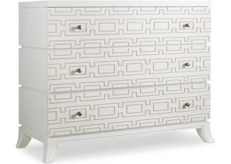 Hooker Furniture Living Room Brillant White Descanso Chest - 638-85098