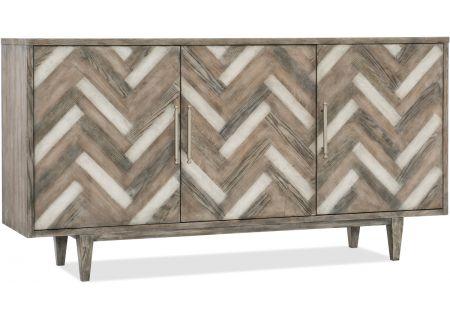 Hooker Furniture Melange Natural Beauty Credenza & TV Stand - 638-85389-MWD