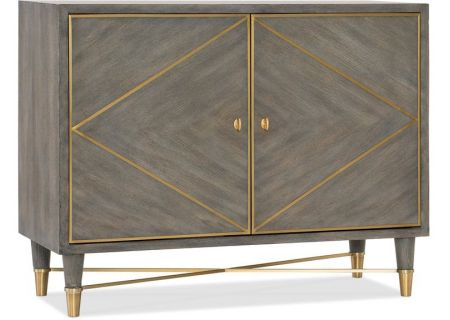 Hooker Furniture Living Room Melange Collection Breck Chest - 638-85392-GRY