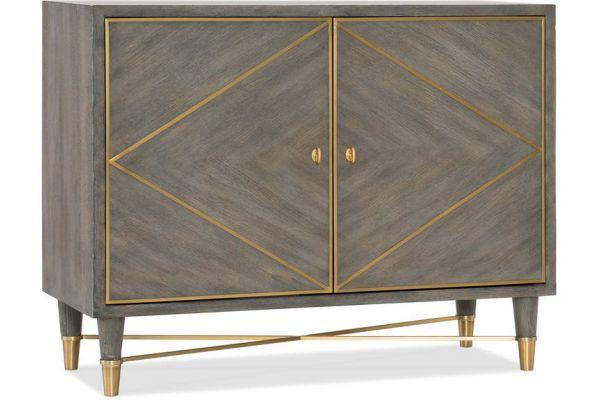Large image of Hooker Furniture Living Room Melange Collection Breck Chest - 638-85392-GRY