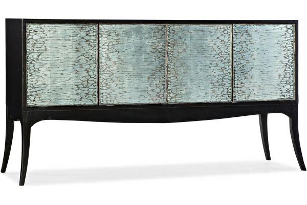 Large image of Hooker Furniture Living Room Melange Elodie Four-Door Credenza - 638-85497-99