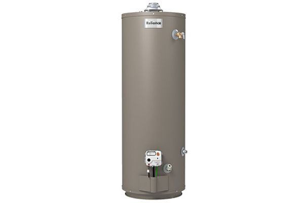 Large image of Reliance 40 Gallon Mobile Home Natural Gas/Propane Water Heater - 6 40 NOMT