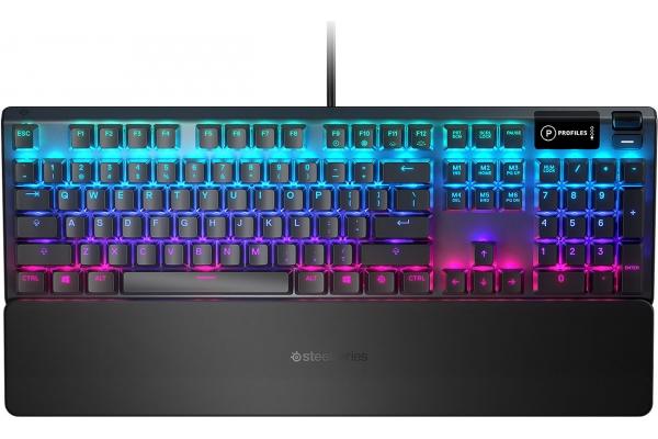 Large image of SteelSeries Apex 5 Hybrid Mechanical Gaming Keyboard - 64532