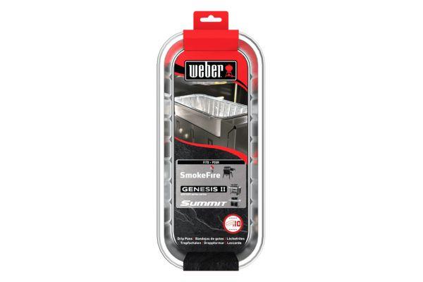 Weber Drip Pans 10 - Pack - 6498