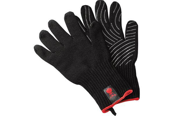Weber Premium Size L/XL Black Barbecue Glove Set - 6535