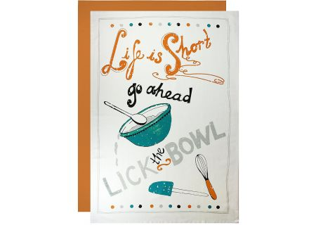 MUkitchen Cotton Flour Sack Lick The Bowl Towel Set - 6600-1626