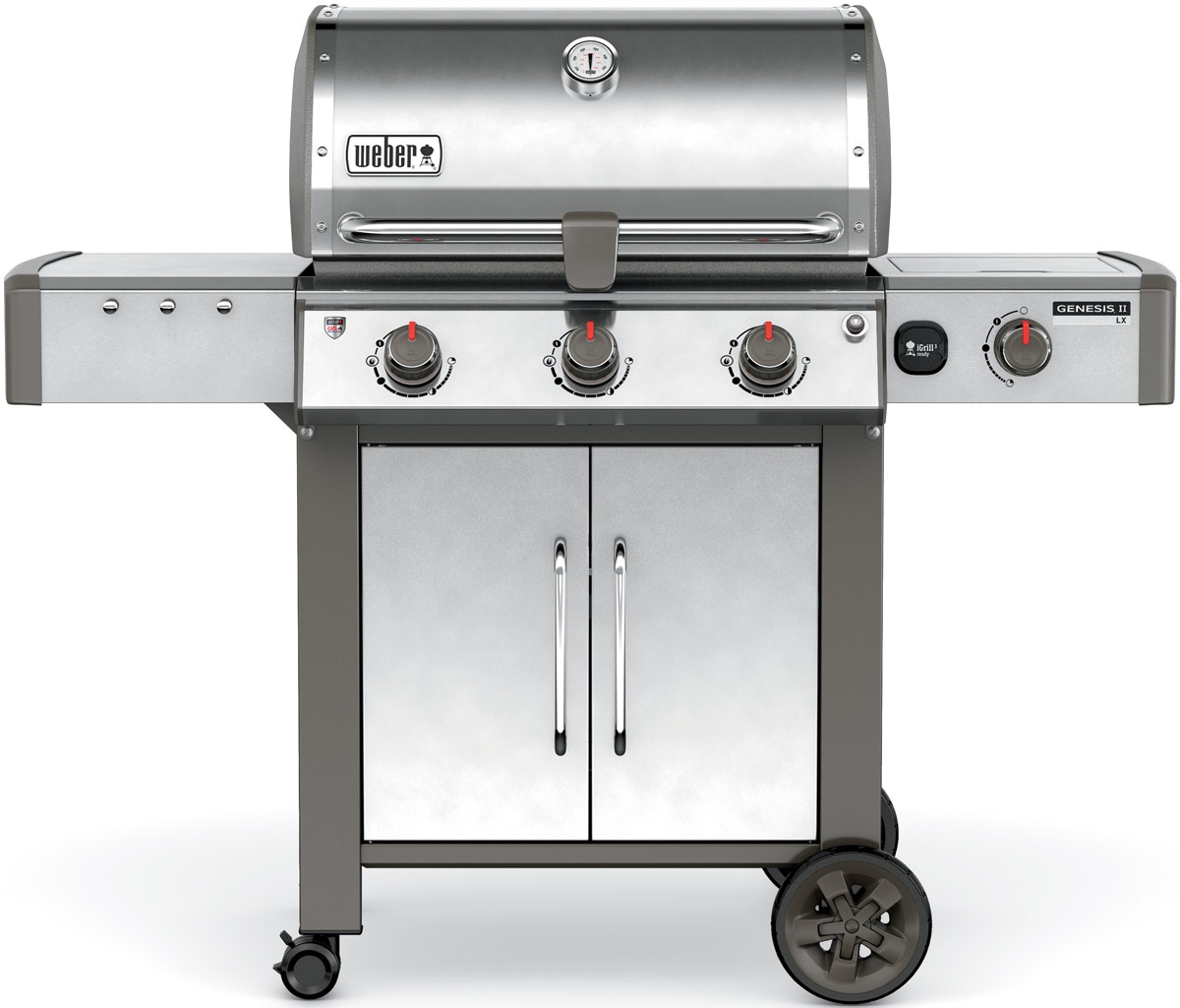 Weber Genesis II LX S-340 Natural Gas Outdoor Grill - 66004001