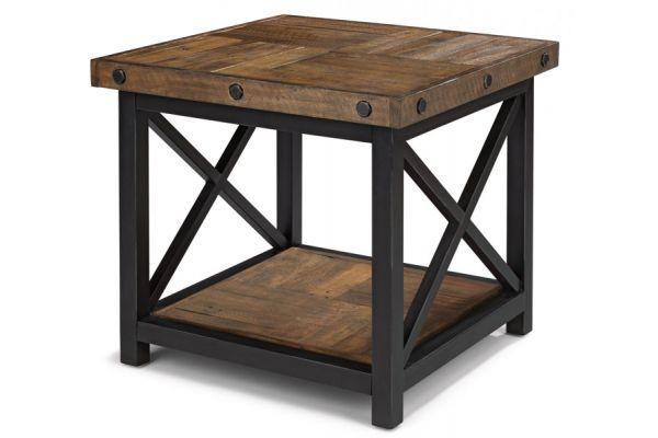 Large image of Flexsteel Carpenter Lamp Table - 6722-02