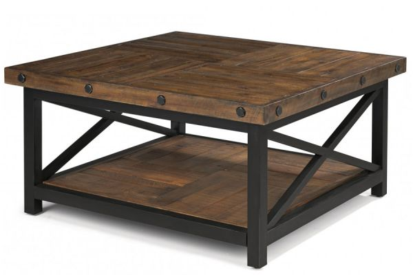 Large image of Flexsteel Carpenter Square Coffee Table - 6722-032