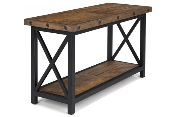 Large image of Flexsteel Carpenter Sofa Table - 6722-04
