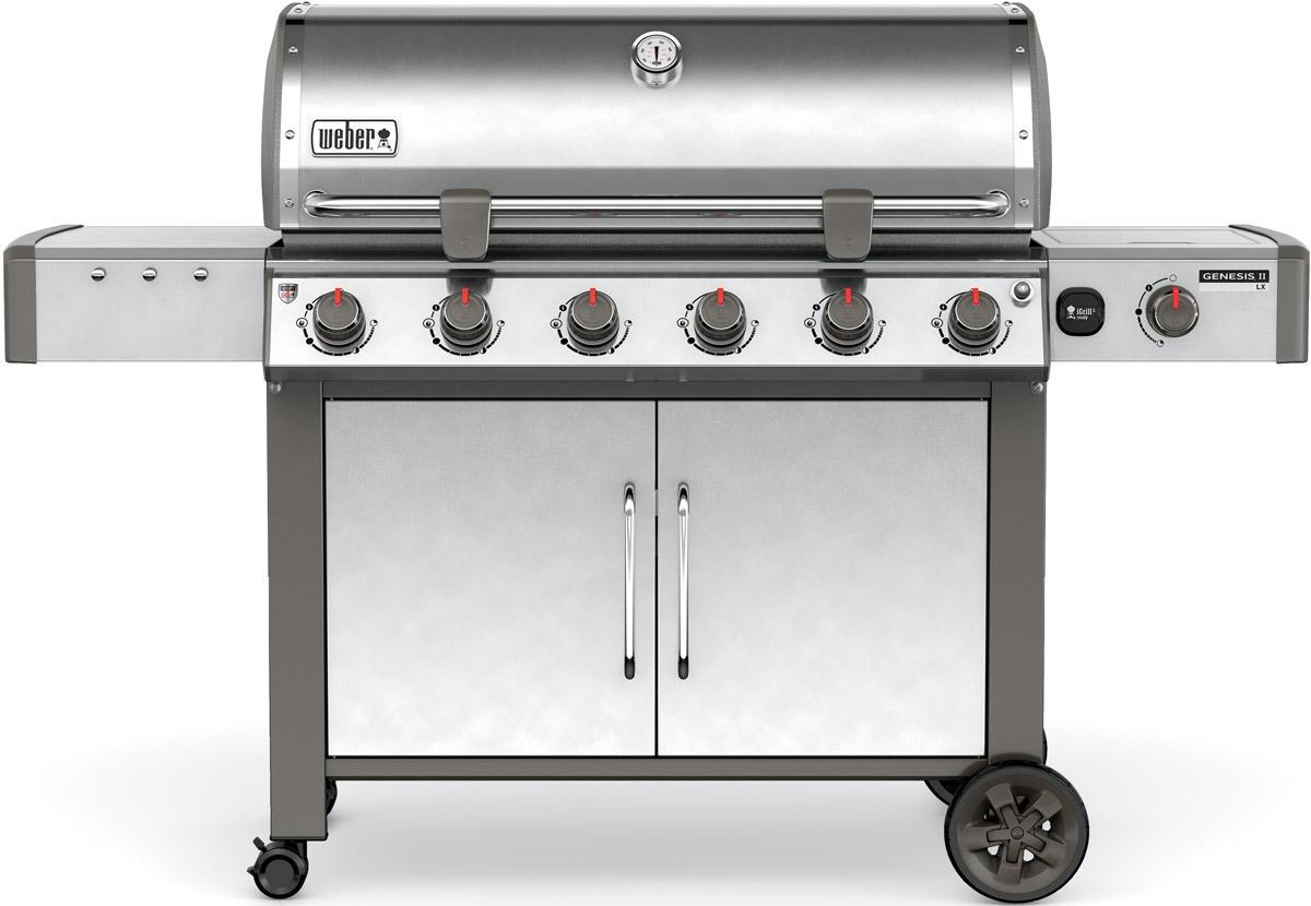 weber genesis ii lx s 640 natural gas outdoor grill 68004001. Black Bedroom Furniture Sets. Home Design Ideas