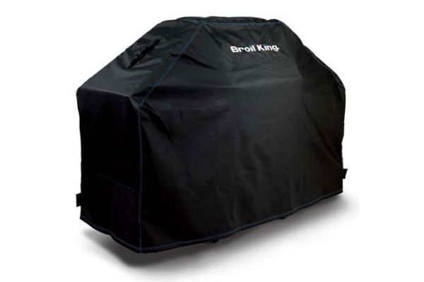 "Large image of Broil King 51"" Premium PVC Polyester Grill Cover - 68470"