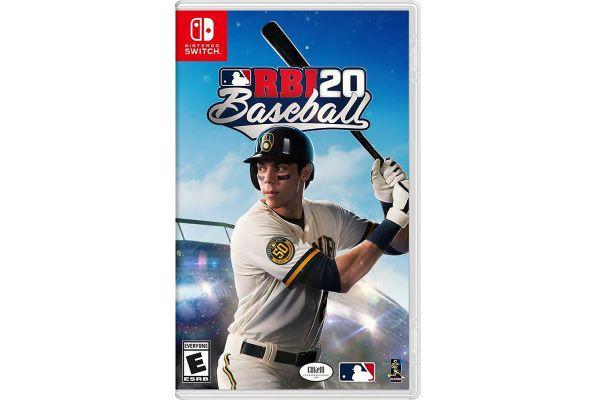 Large image of Nintendo Switch RBI20 Baseball Video Game - 696055224999