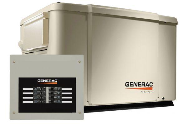 Large image of Generac Powerpact 7KW Home Backup Generator - 69981