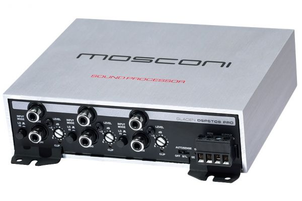 Large image of Mosconi Gladen 6 To 8 Channels Digital Signal Processor - DSP6TO8PRO