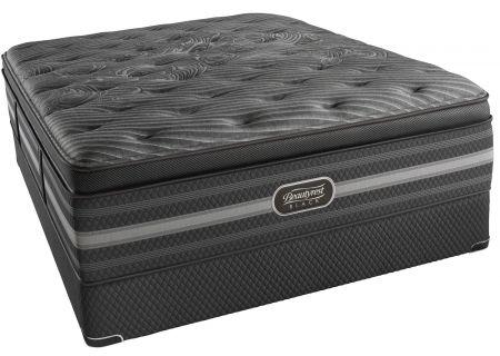 Simmons Beautyrest Black Natasha Luxury Firm Pillow Top Queen Mattress  - 700730108-1050