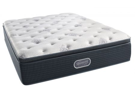 Simmons Beautyrest Silver West Palm Luxury Firm Pillow Top Twin Mattress  - 7007529881010