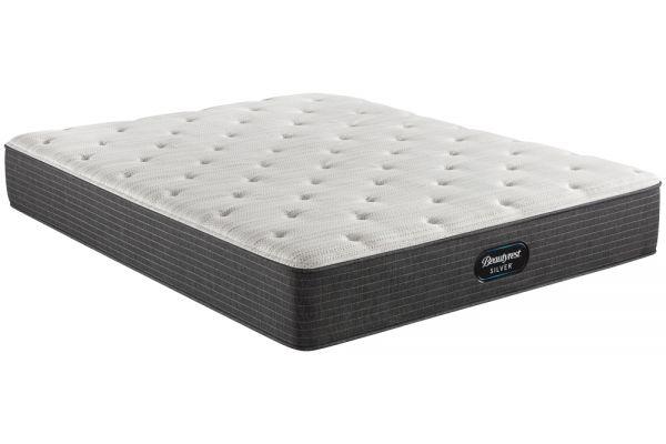 Large image of Beautyrest Silver BRS900 Medium Firm Twin Mattress - 700810101-1010