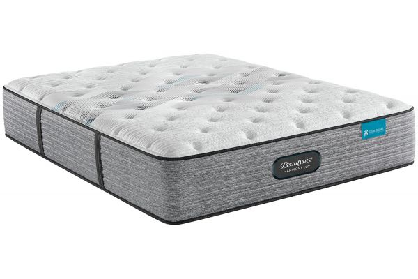 Large image of Beautyrest Harmony Lux Carbon Series Plush Twin Mattress - 700810907-1010