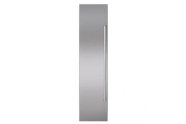 "Large image of Sub-Zero Classic 36"" Stainless Steel Flush Inset Freezer Door Panel With Pro Handle - 7008911"