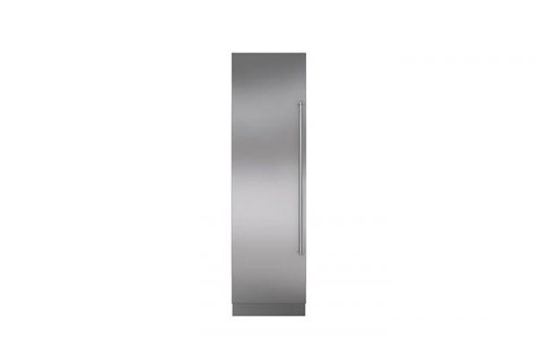 """Sub-Zero 24"""" Stainless Steel Column Door Panel With Pro Handle Left Hinge - 7025323"""