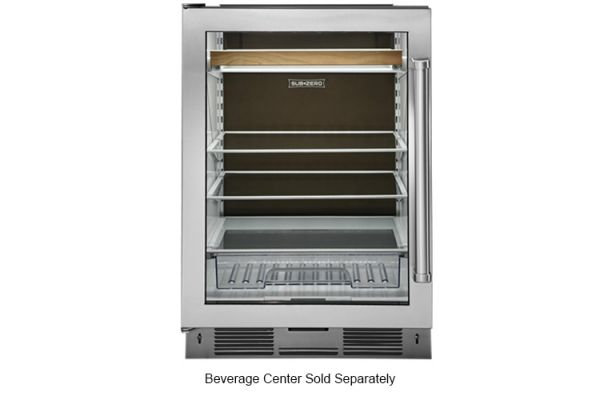 Large image of Sub-Zero Undercounter Beverage Center Cocoa Black Rear Wall - 7041076