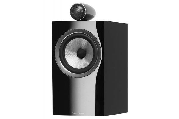 Large image of Bowers & Wilkins 700 Series Gloss Black 2-Way Bookshelf Speakers (Pair) - FP38903