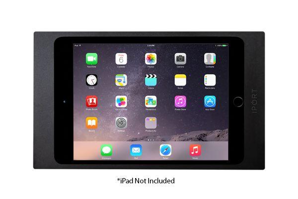 Large image of iPort Black Surface Mount Bezel For iPad Mini 1, 2, 3 - 70700